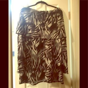 Love this Animal Print top. Cute with leggings .